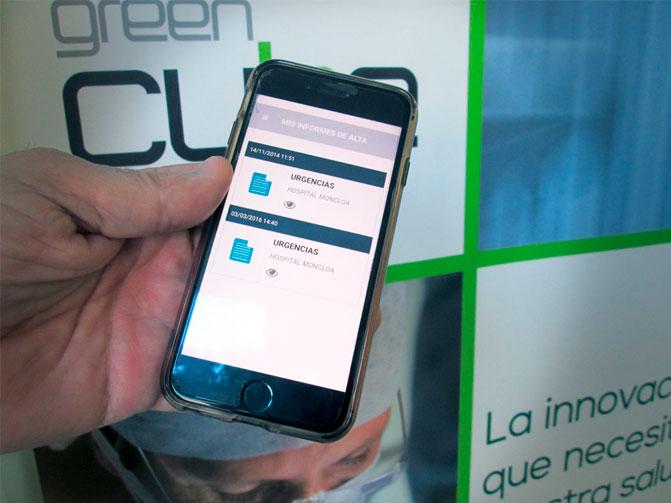 Green Cube en la APP HLA para pacientes
